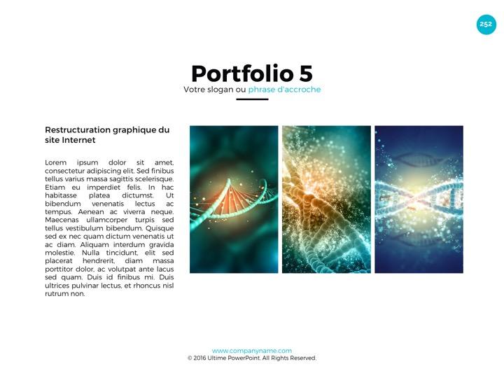 Slides Powerpoint professionnels