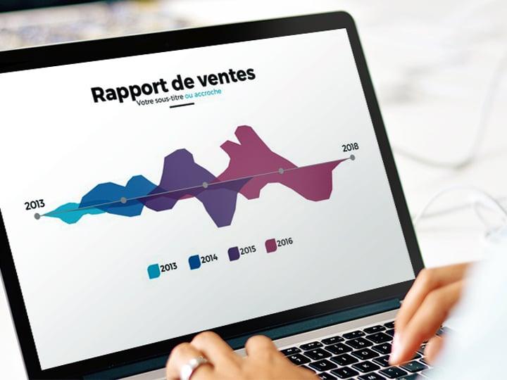 Modèle Powerpoint Portfolio