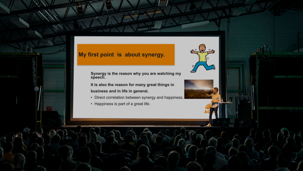Horrible présentation powerpoint